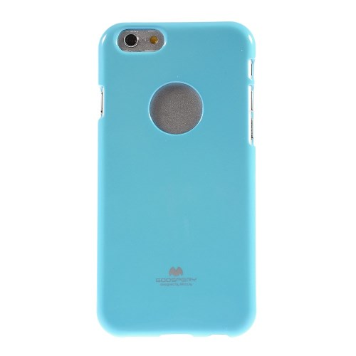 Lichtblauwe TPU Jelly Case voor iPhone 6/6S