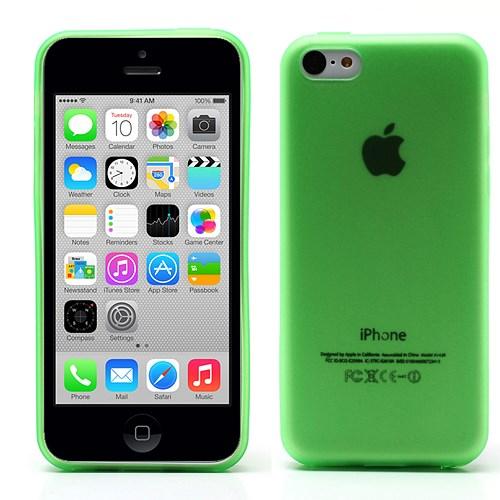 iPhone 5C hoesje – doorschijnend