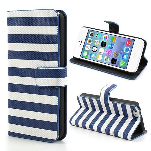 iPhone 5C hoesje met horizontale strepen