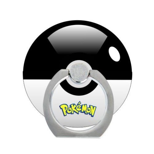 pokeball ring zwart