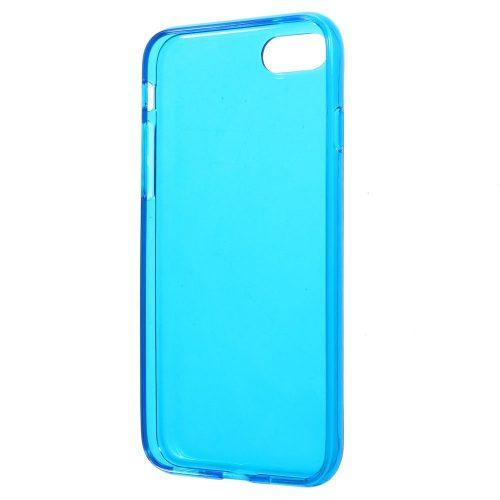 Doorzichtig TPU Hoesje iPhone 7 – donkerblauw