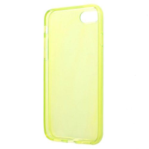 Doorzichtig TPU Hoesje iPhone 7 – geel