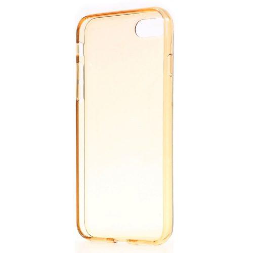 Doorzichtig TPU Hoesje iPhone 7 – goud