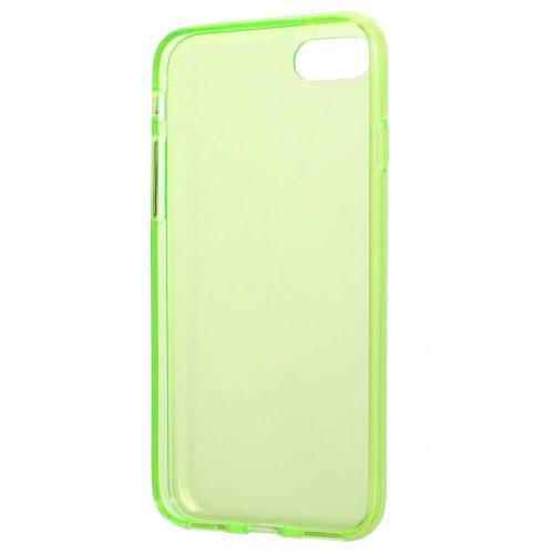 Doorzichtig TPU Hoesje iPhone 7 – groen