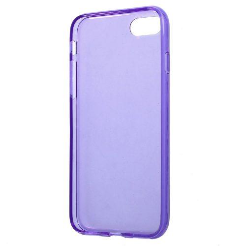 Doorzichtig TPU Hoesje iPhone 7 – paars