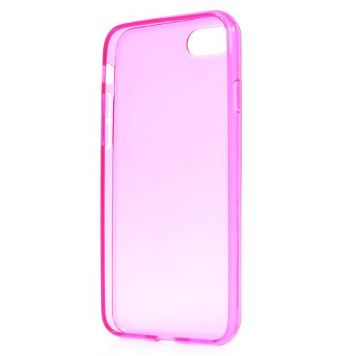 Doorzichtig TPU Hoesje iPhone 7 – roze