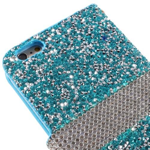 iPhone 6/6S Glitter Book Case