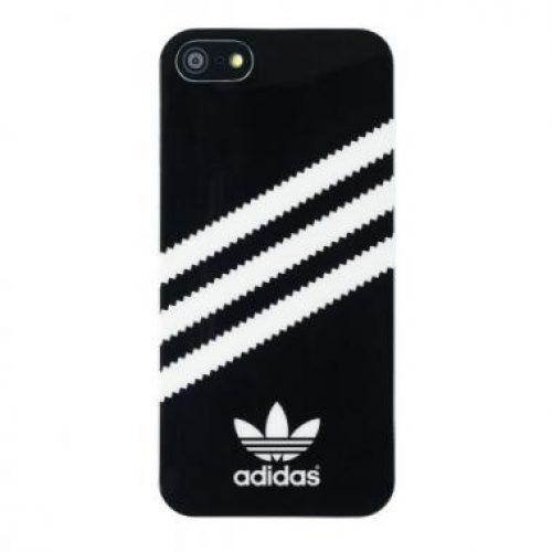 iphone5 adidas case zwart