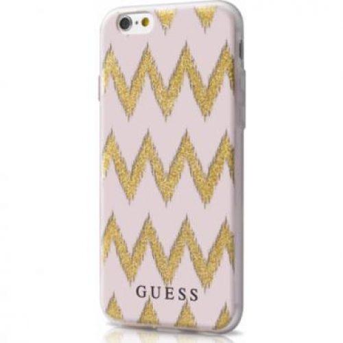 iphone6 guess tpu case beige-goud