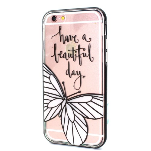 LED-case Have a Beautiful Day voor iPhone 7 / 8 / SE 2020