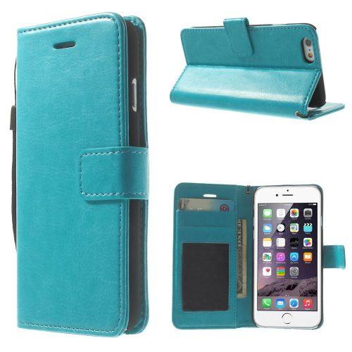 iphone6 wallet book case blauw
