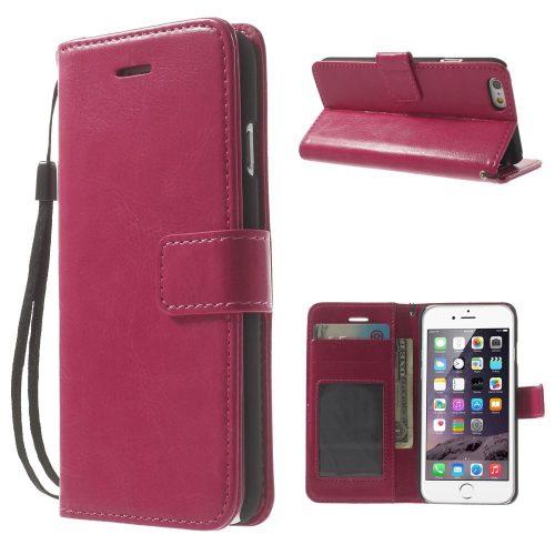 iphone6 wallet book case roze