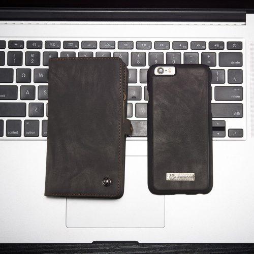 iphone6s portemonnee caseme-grijs