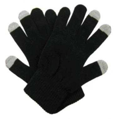 Muvit Touch Screen Handschoenen Zwart Maat L