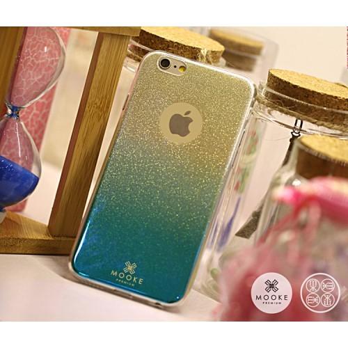 iPhone 6/6S Glitter TPU hoesje – Groen