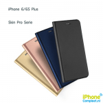 iphone 6 plus dux skin serie leren hoesje