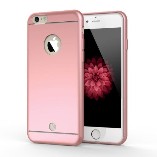 iphone 6 plus mooke rosegoud tpu