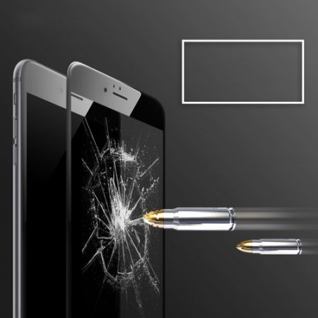 iphone 6s rock tempered glass-zwart