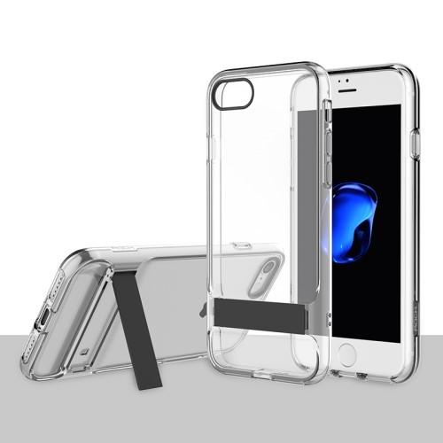 Rock Royce Serie met Kickstand voor iPhone 7 / 8 / SE 2020 – Transparant