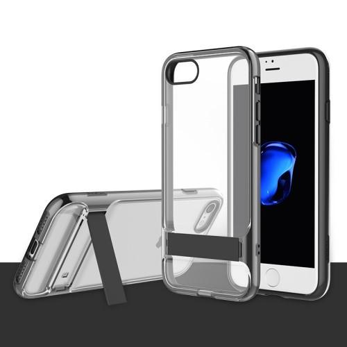 Rock Royce Serie met Kickstand voor iPhone 7 / 8 / SE 2020 – Zwart