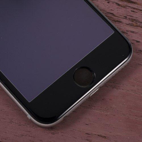 iphone 7 simplism tempered glass zwart detail