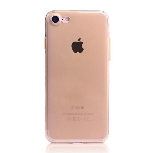 TPU Soft Case voor iPhone 7 / 8 / SE 2020 – Goud