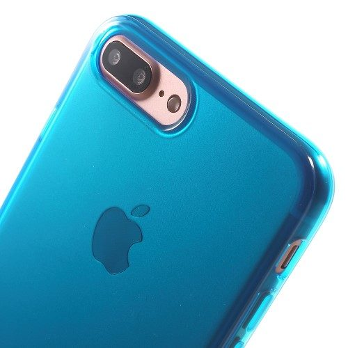 iphone 7 plus soft case blauw-detail