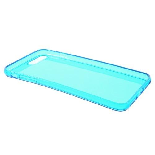 Transparante soft case voor iPhone 7 Plus / iPhone 8 Plus – Blauw