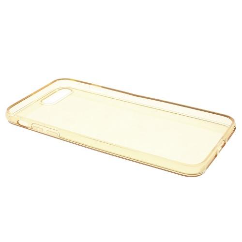 Transparante soft case voor iPhone 7 Plus / iPhone 8 Plus – Goud