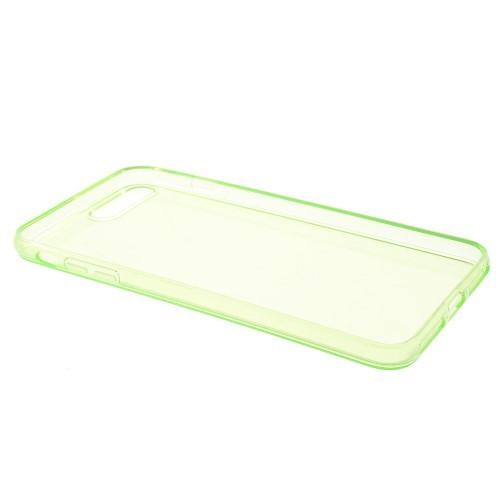 Transparante soft case voor iPhone 7 Plus / iPhone 8 Plus – Mintgroen