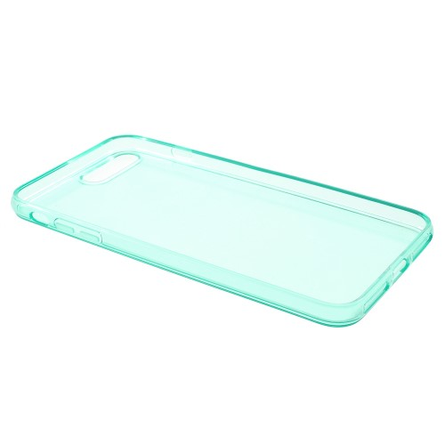 Transparante soft case voor iPhone 7 Plus / iPhone 8 Plus – Groen