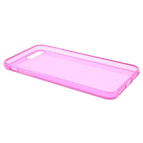 Transparante soft case voor iPhone 7 Plus / iPhone 8 Plus – Roze