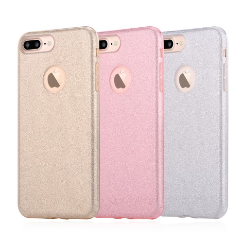 Vouni Shine Glitter Case voor iPhone 7 Plus / iPhone 8 Plus