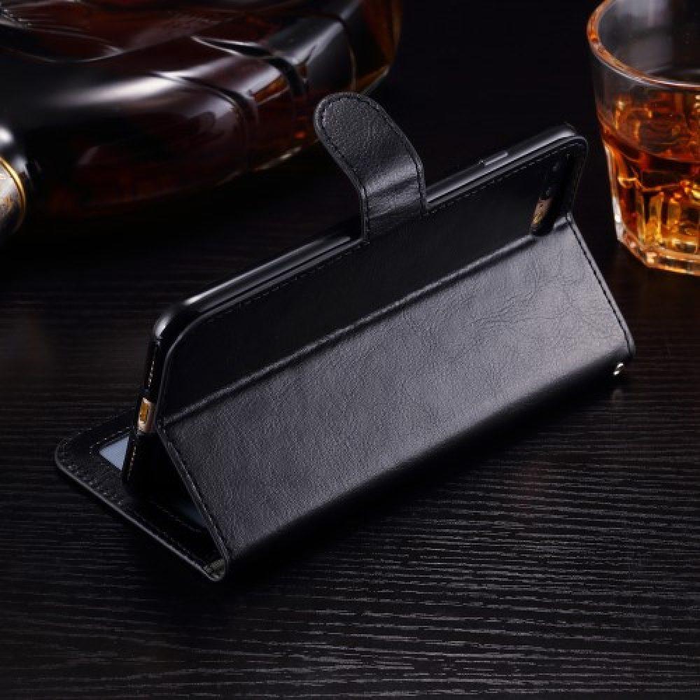 iphone 7 plus wallet-book-case-standaard