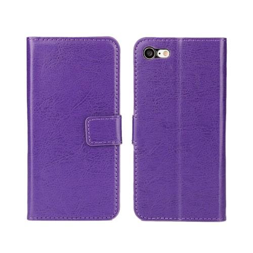 Wallet Book Case voor iPhone 7 / 8 / SE 2020 – Paars