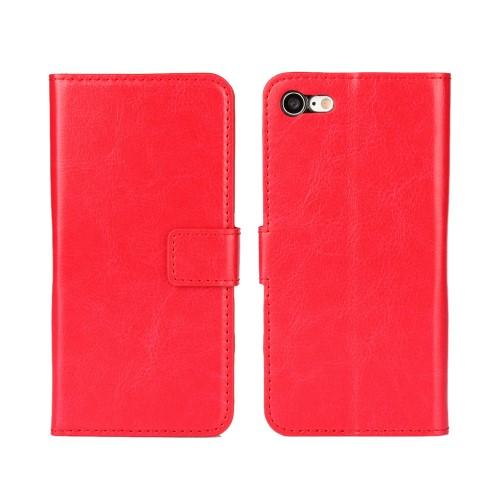 Wallet Book Case voor iPhone 7 / 8 / SE 2020 – Rood