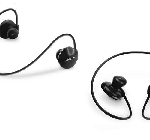 Avanca S1 Draadloze Sport Headset – zwart