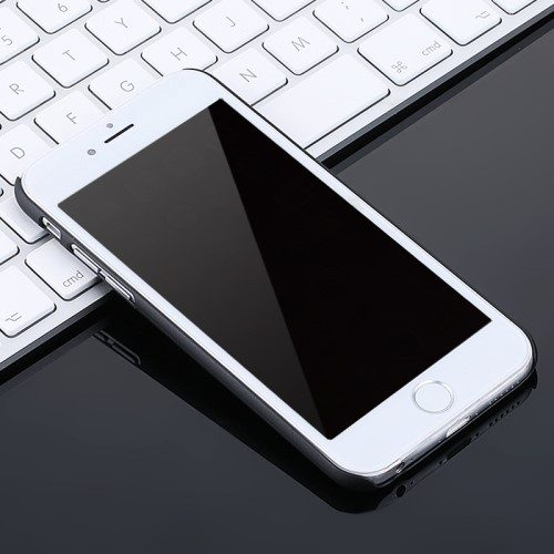 iphone6 x level zwarte hard case front1
