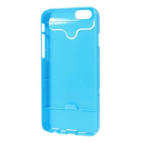 iphone6s glossy hard case blauw binnenkant