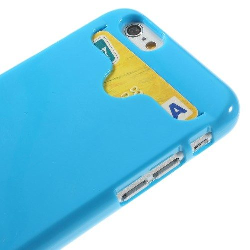 iphone6s glossy hard case blauw detail