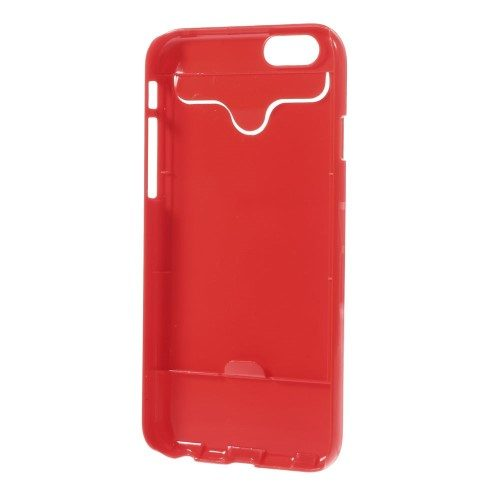 iphone6s glossy hard case rood binnen
