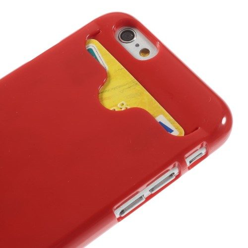 iphone6s glossy hard case rood detail