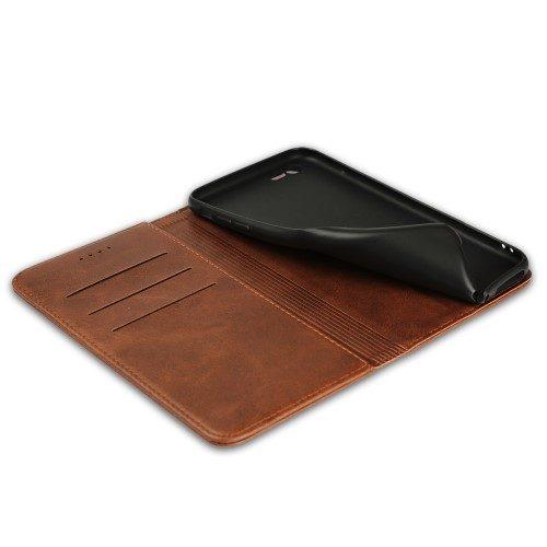 iphone8 lederen book case binnenkant