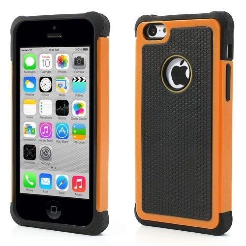 iphone-5c-hoesje-zwart-oranje