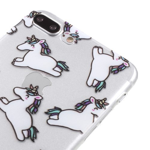 Unicorn TPU hoesje voor iPhone 6[S]Plus / iPhone 7 Plus / iPhone 8 Plus
