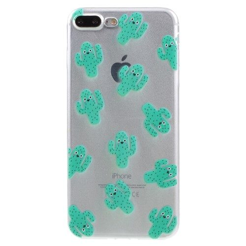 cactus iphone 7+ iphone 8+ hoesje