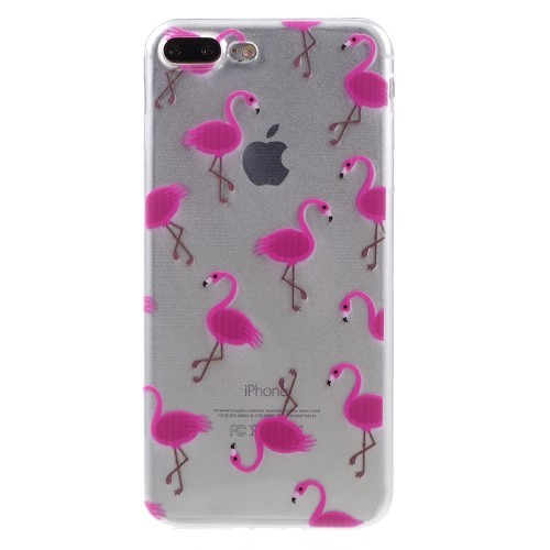 Flamingo TPU hoesje voor iPhone 7 Plus/iPhone 8 Plus