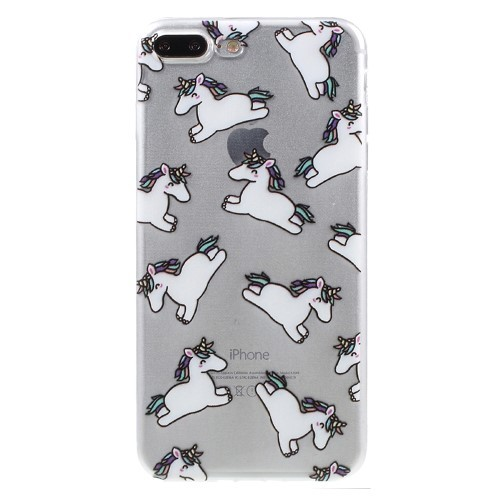 Unicorn TPU hoesje voor iPhone 7 Plus/iPhone 8 Plus