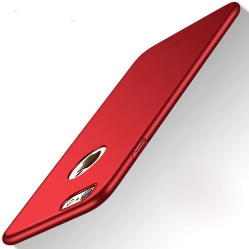 Superdun hoesje voor iPhone 8 / iPhone 7 / iPhone SE 2020 – Rood