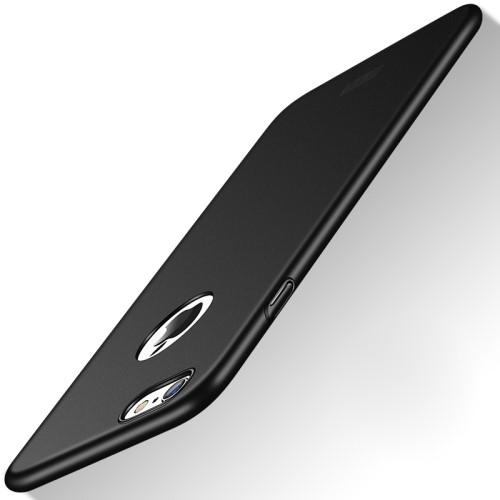 Superdun hoesje voor iPhone 8 Plus / iPhone 7 Plus – Zwart